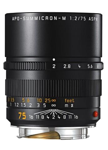 Leica Apo-Summicron-M 75mm f/2.0 ASPH Silver