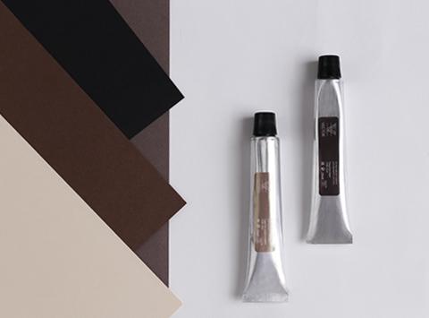 OVB-005 Интенсивная краска для бровей и ресниц Vector Черная