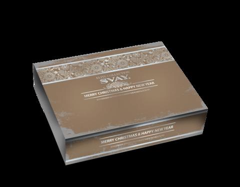 Svay.  Коллекция крупнолистового чая Elite Collection Merry Christmas&Happy New Year 40 пирамидок по 2 и 2,5 г