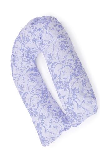 Подушка для беременных U280 (Холлофайбер) 10135 голубые узоры