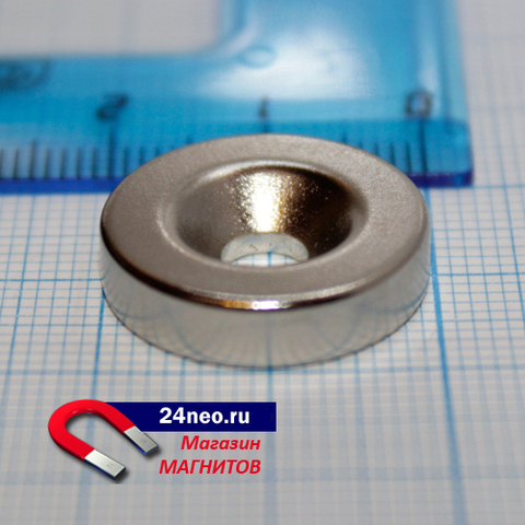 Неодимовый магнит кольцо 20Х5Х5