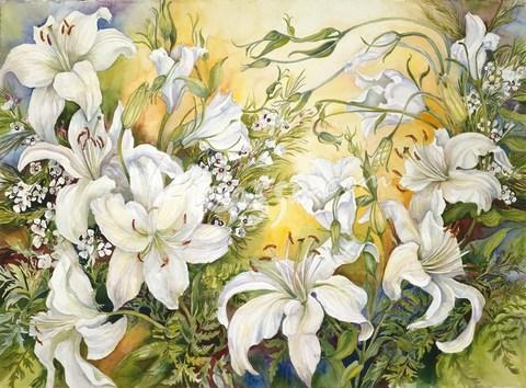 99617 Белые лилии