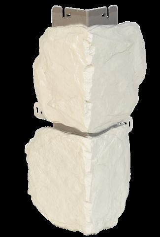 Наружный угол Альта профиль Бутовый камень Норвежский 440х180 мм