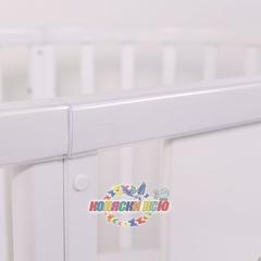 Кроватка трансформер Топотушки Селена 7 в 1 (овальная)