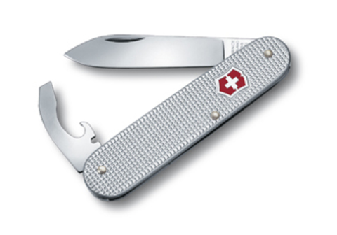Нож Victorinox Alox Bantam, 84 мм, 5 функций, серебристый123