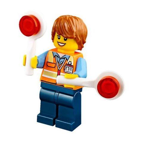 LEGO City: Транспортер для учебных самолетов 60079 — Training Jet Transporter — Лего Сити Город