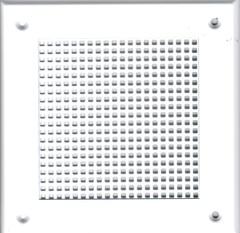 Решетка 150*150 белая, м.клетка
