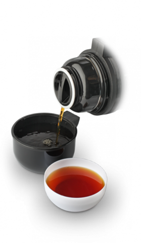 Термос универсальный (для еды и напитков) LaPlaya Traditional (1,2 литра), черный