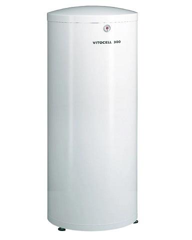 Бойлер Viessmann Vitocell 300-V тип ЕVIA-A из нержавеющей стали 300 л белый, Z015300
