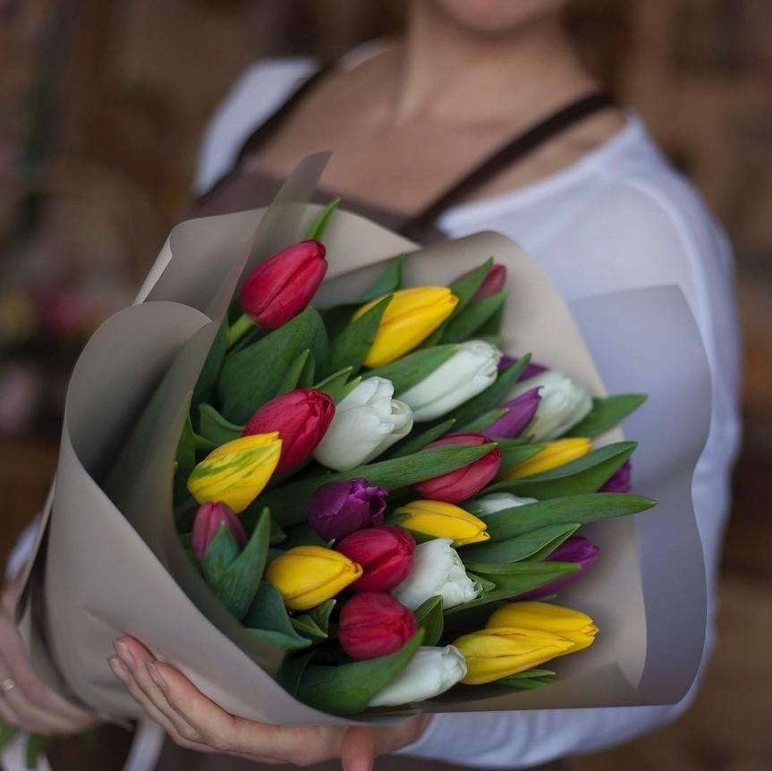 преимущество рынка креативные букеты из тюльпанов фото могут быть классические