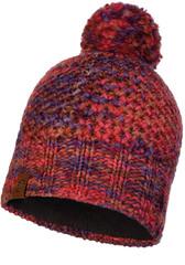 Шапка вязаная с флисом Buff Hat Knitted Polar Margo Maroon