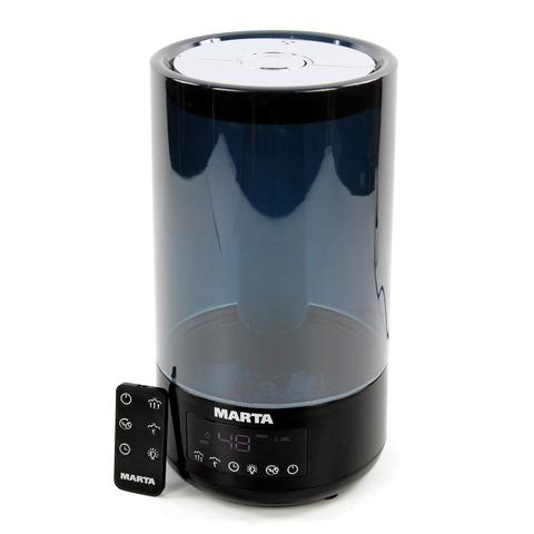 Увлажнитель воздуха MARTA MT-2697 черный жемчуг