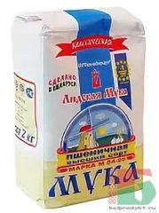 Белорусская Лидская мука пшеничная Классическая 2 кг. - купить в Москве с доставкой на дом