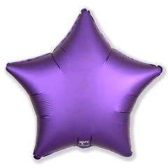 Р Звезда, Фиолетовый, Сатин, 21