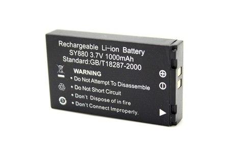 Аккумулятор SY880 для Экшен камер Li-ion 1000mAh wdv5000  f21 dv SY880 (черный)