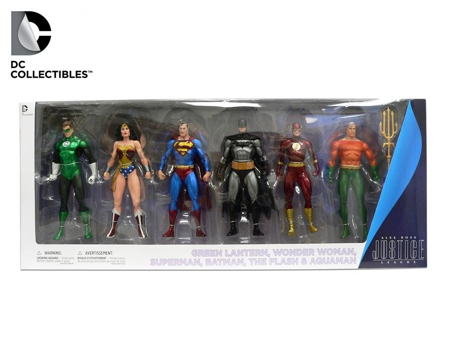 Лига Справедливости набор фигурок 6 шт