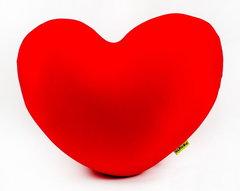 Подушка-игрушка антистресс «Большое красное сердце» 1