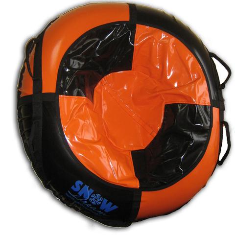 Санки-ватрушка SnowDream Classic Maxi 100 оранжево-черная