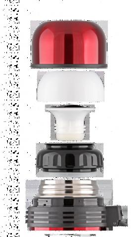 Термос универсальный (для еды и напитков) LaPlaya Traditional (1,2 литра), красный