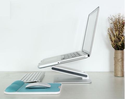 Алюминиевая настольная подставка для ноутбука