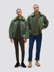 Куртка Alpha Industries B-15 Sage Green (Зеленая)