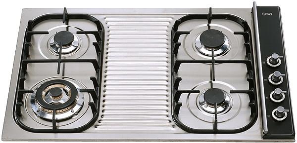 Газовая варочная панель ILVE H 380 CV-X