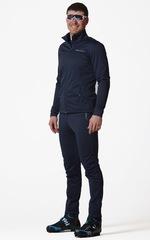 Утеплённый лыжный костюм Nordski Motion Premium Blueberry 2020 мужской с лямками