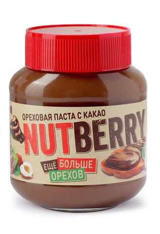 NUTBERRY Ореховая паста с добавлением какао 350г
