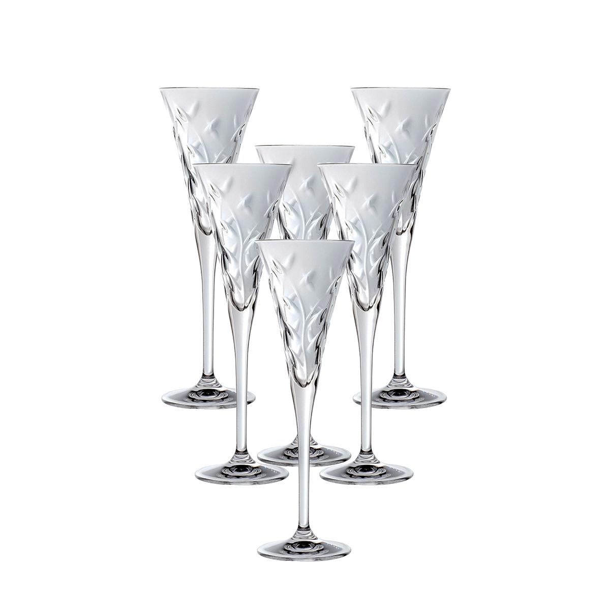 Набор фужеров для шампанского RCR Laurus 120 мл