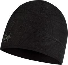 Двухслойная полиэстровая шапка Buff Hat reversible polyester Embers Black