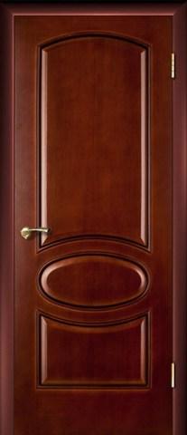 Дверь Атина ПГ (тёмный анегри, глухая шпонированная), фабрика LiGa
