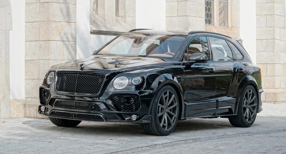Обвес Mansory для Bentley Bentayga