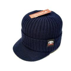 Кепка вязаная с логотипом Тойота (Бейсболка Toyota) синяя