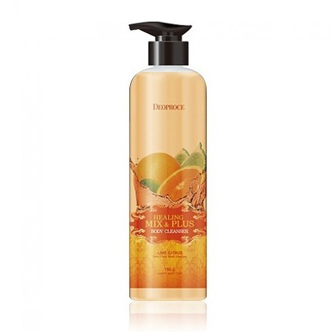 DEOPROCE HEALING MIX & PLUS BODY CLEANSER LIME CITRUS