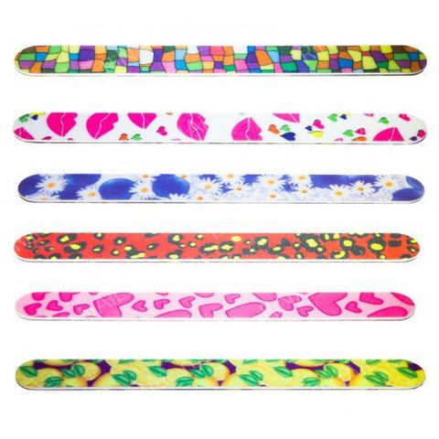 Пилка цветная для ногтей