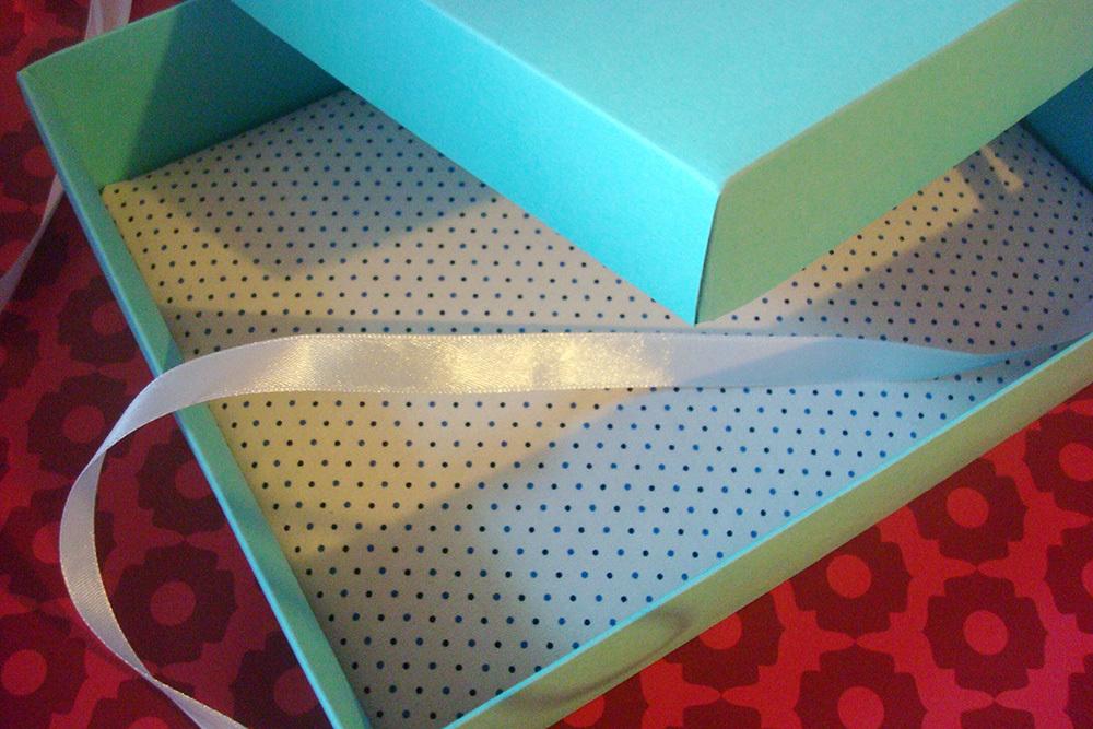 Подарочная коробка Тиффани