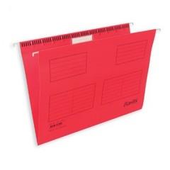 Подвесная папка Bantex А4 до 250 листов красная (25 штук в упаковке)