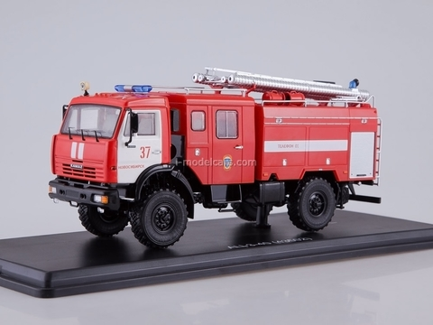 KAMAZ-43502 AC-3-40 fire engine 1:43 Start Scale Models (SSM)
