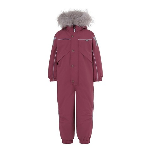 Комбинезон Molo Polaris Fur Recycle Maroon зимний