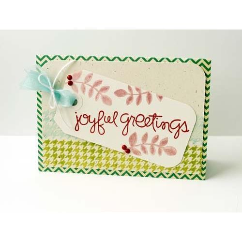 Набор силиконовых штампов Joyful Greetings