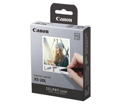 Бумага Canon XS-20L для SELPHY SQUARE QX10 20 листов