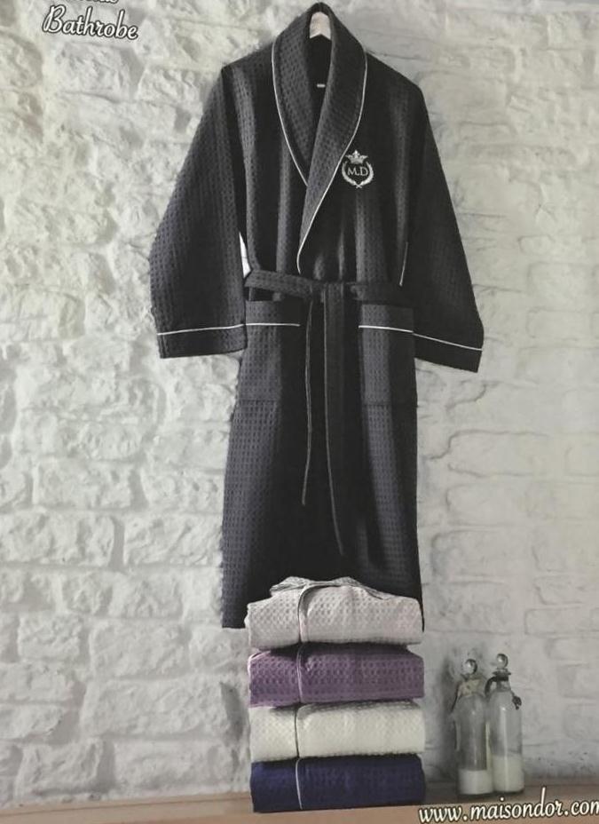Халаты мужские Вафельный мужской халат KARIUS - КАРИУС  Maison Dor Кариус.jpg