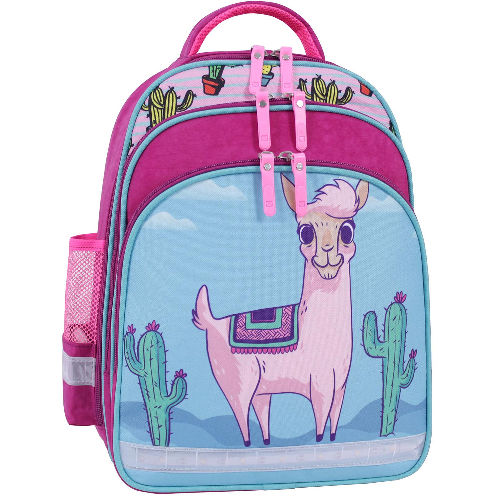 Детские рюкзаки Рюкзак школьный Bagland Mouse 143 малиновый 617 (0051370) IMG_9835_суб.617_.JPG