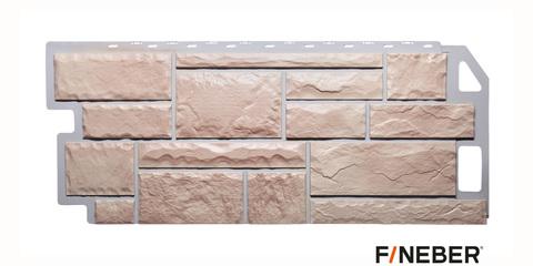 Фасадная панель Fineber Камень бежевый 1137х470 мм