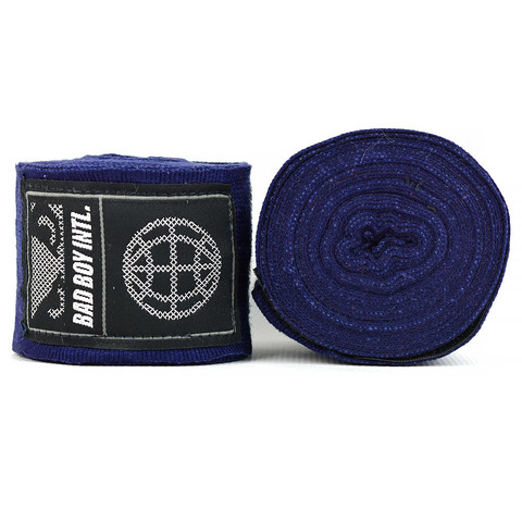 Бинты Bad Boy Combat Premium Hand Wraps Navy 5m