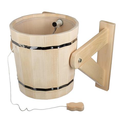 Русский душ 18 л, обливное устройство с наливным клапаном, липа,