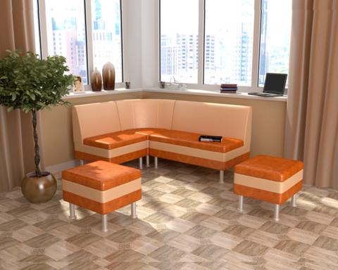 Набор мебели для кухни СЕКРЕТ-2 брауни / латте