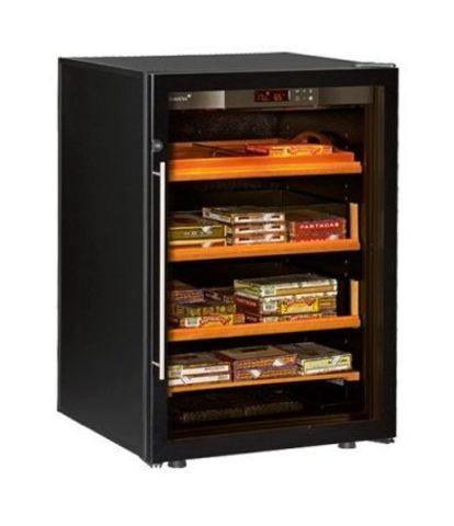 Шкаф для хранения сигар Eurocave CC.064 цвет черный, стеклянная дверь, стандартная комплектация