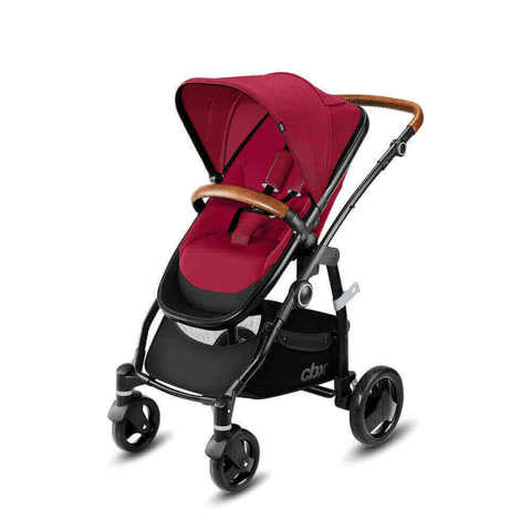 Детская коляска 2 в 1 CBX by Cybex Leotie Lux Crunchy Red