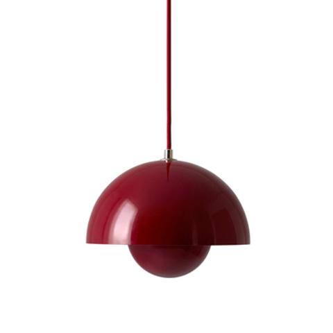Подвесной светильник копия Flowerpot by Verpan Panton (красный)